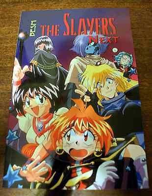 Slayers Next BESM D20 Roleplaying Game Ultimate Fan Guide Book