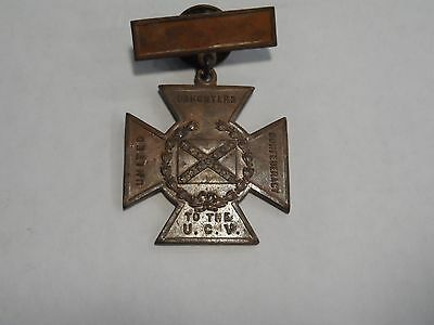 United Daughters of the Confederacy UCV Southern Cross of Honor Medal 1861-1865!