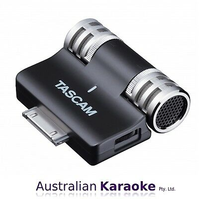 NEW Tascam iM2 30-Pin iPhone iPad iPod Condenser Stereo Microphone System