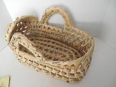 Hooded Moses basket doll bed