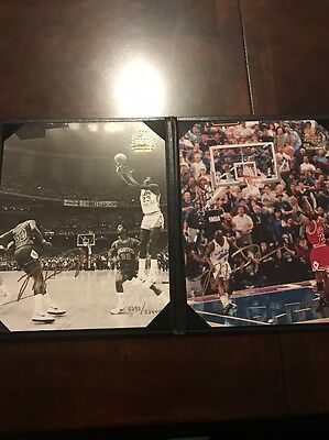Michael Jordan Signed Photograph Upper Deck Authentic- Ultra-Rare