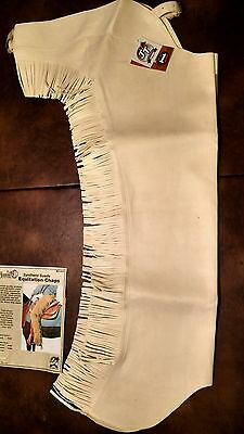 Synthetic Ultra Suede Type Western Pleasure Equitation or Motorcycle Chaps