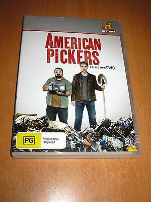 American Pickers : Collection Two 2 - ( 2 Disc Set Dvd Region 4 ) ~ * As New *