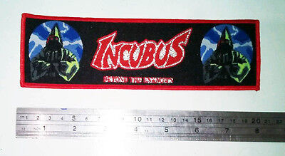 INCUBUS - Beyond The Unknown - Death Metal Woven Patch Superstips Opprobrium