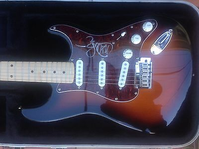 Fender Stratocaster Electric Guitar - signed by John Mayer