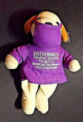 Curto Toy Custom Plush Enthermics Medical Systems Paper Ear & Tush Tags