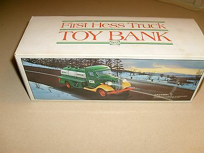1985 First Hess Truck Toy Bank