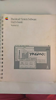 APPLE COMPUTER - Macintosh System Software - User's Guide - Ver 6.0 1988