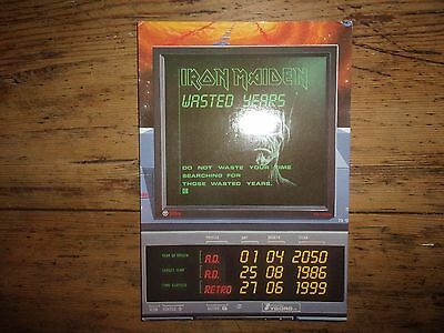 Carte postale collector Iron Maiden - DG108 1992 - Hard Rock Métal