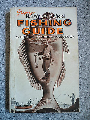 Gregory's N.S.W. Official Fishing Guide and Holiday Sporting Handbook