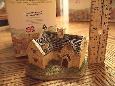 DAVID WINTER COTTAGES - Cotswold Cottage - 1982 - In Original Box