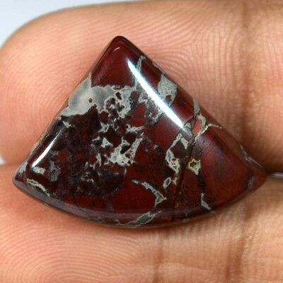 16.4Cts A+ A+ 100% NATURAL AFRICAN BLOOD STONE FANCY 22X16 Cabochon