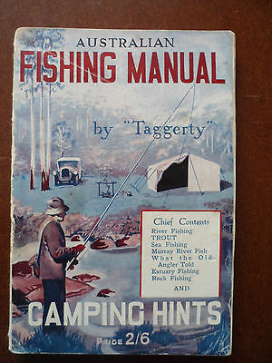Vintage; Australian Fishing Manual. by Taggerty.