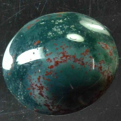 Cts. 20.45 NATURAL MAGNIFICENT BLOODSTONE HANDMADE OVAL CAB LOOSE  NMJEWELLS