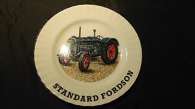 A & L, Collectable China wall Plate, Standard Fordson Tractor