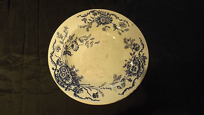 Vintage Collectable China Blue and White Soup Plate