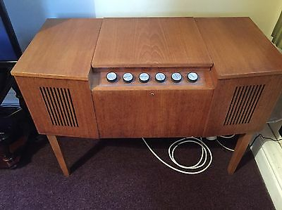 Vintage Hmv Stand Alone Record Player