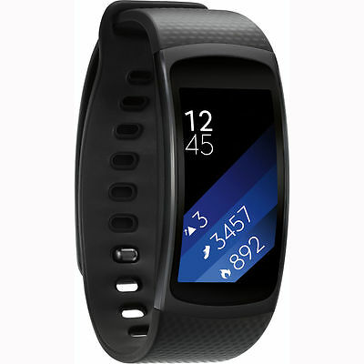 Samsung SM-R360 Gear Fit 2 Smartwatch with Large band - Black AU