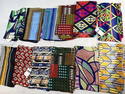 US SELLER-12p vintage style boho retro print two sided long narrow fashion scarf