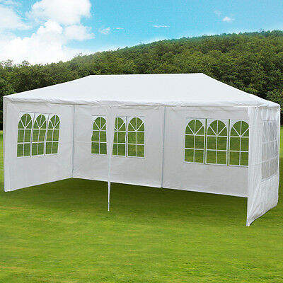3X6M Party Wedding Tent Outdoor Waterproof PE Garden Gazebo Canopy Awning Used A