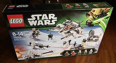 Lego Set 75014 Star Wars Battle Of Hoth - New Sealed