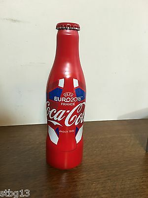 RARE - Bouteille Coca Cola UEFA EURO 2016 Pleine - Full Bottle Football