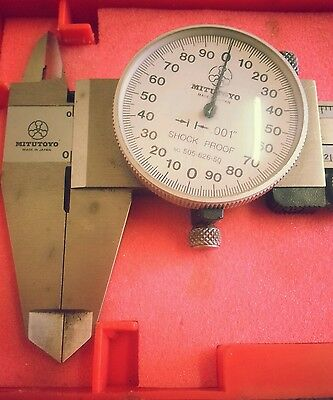 Mitutoyo Vernier Dial Caliper in Inches and Centimetres.