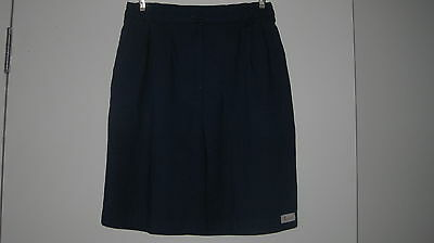 Navy Golf Shorts-'4 Golf' Side Pockets Elasticised A Little On Each Side Size 12