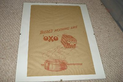 Original Oxo Paper Bag - Vintage And Collectable