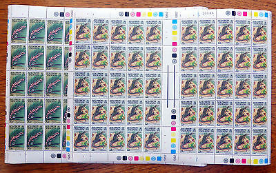 SOLOMON ISLANDS Wholesale Lizards 12c & 50c Cat £40 Sheets of 50 FP2519