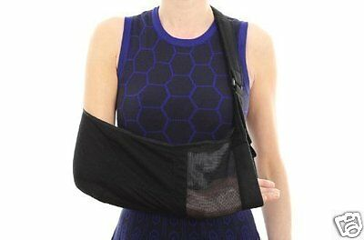 Active Orthotics, One Size Black Lightweight Arm Sling