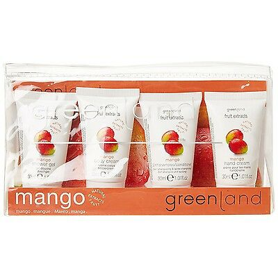 GREENLAND Reise-Set Mango, 4-teilig (14,33€/100ml)