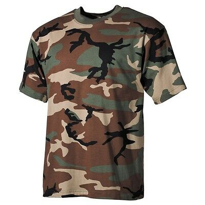 US Army T-Shirt Tarn 3 Farben desert, woodland Outdoor, Armee