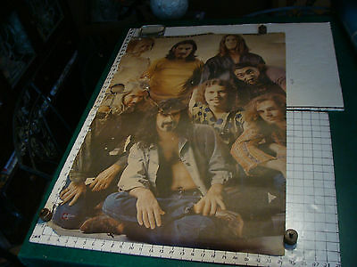 Vintage Poster: 1969 the MOTHERS OF INVENTION THIS WEEK, aprox 24 x 37 hirem