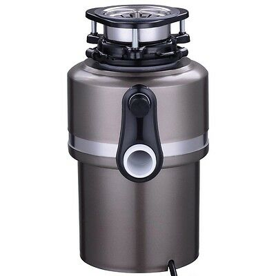 Garbage Disposal 3/4 HP Continuous Feed Kitchen Food Waste 4200 RPM