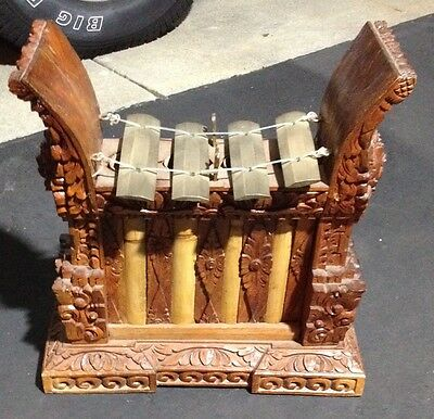 Balinese bronze Angklung (4 bar) gender Bali Indonesia fine gamelan instrument