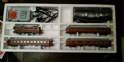 Lima 1:87 HO NSB (Norway) train set including BR13 loco and 3 carriages