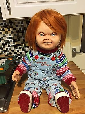 Chucky Doll Full Scale Good Guy Evil Version