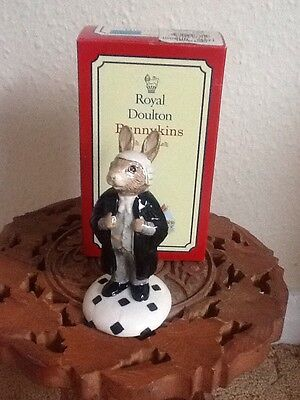 """Royal Doulton Bunnykins mint condition boxed """"LAWYER"""" DB214"""