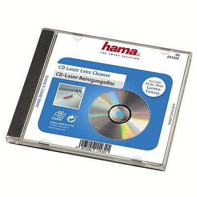 Hama CD DVD Laser Lens Cleaner Cleaning Disc