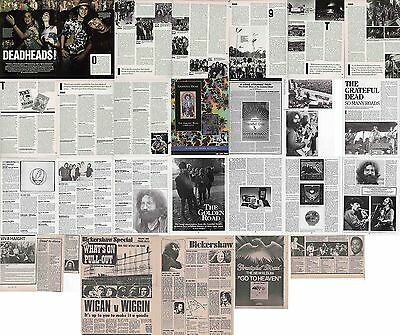 GRATEFUL DEAD : CUTTINGS COLLECTION -adverts interview etc-