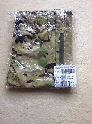 British Army MTP Waterproof Trousers Size Large