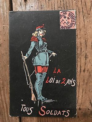 Early 1900s French Postcard - Posted 1906