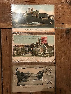 Early 1900s German Postcards - POSTED
