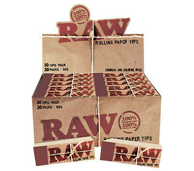 Raw Tips for Rolling Papers - 50er Box