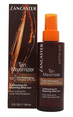 Lancaster Tan Maximizer After Sun Oil 150Ml. New. Free Shipping