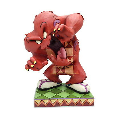 "LOONEY TUNES Skulptur by Jim Shore ""A Hairy Situation - Gossamer"" Enesco 4052814"