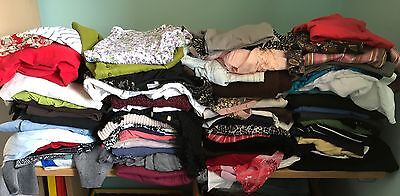 Joblot Ladies Clothing x 80 ITEMS Tops, Dresses, Skirts, Trousers
