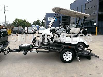 Golf Cart Trailer Tilt Load