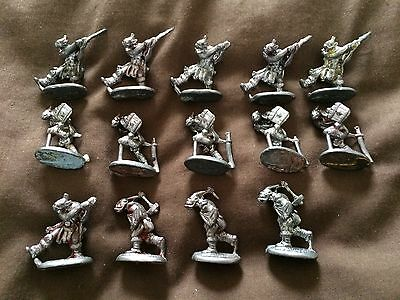 14 metal pre slotta Prince August orc gnoll bugbear kobold warriors from 1986